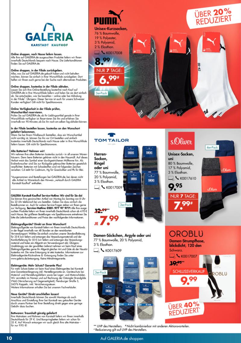 GALERIA Karstadt Kaufhof Prospekt vom 22.01.2020, Seite 9