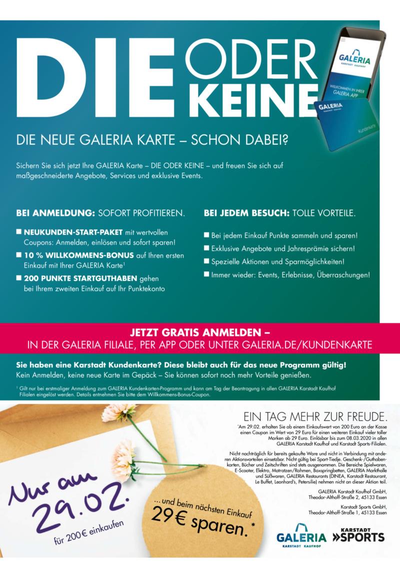 GALERIA Karstadt Kaufhof Prospekt vom 26.02.2020, Seite 2