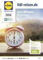 Lidl-Reisen Prospekt vom 15.05.2018