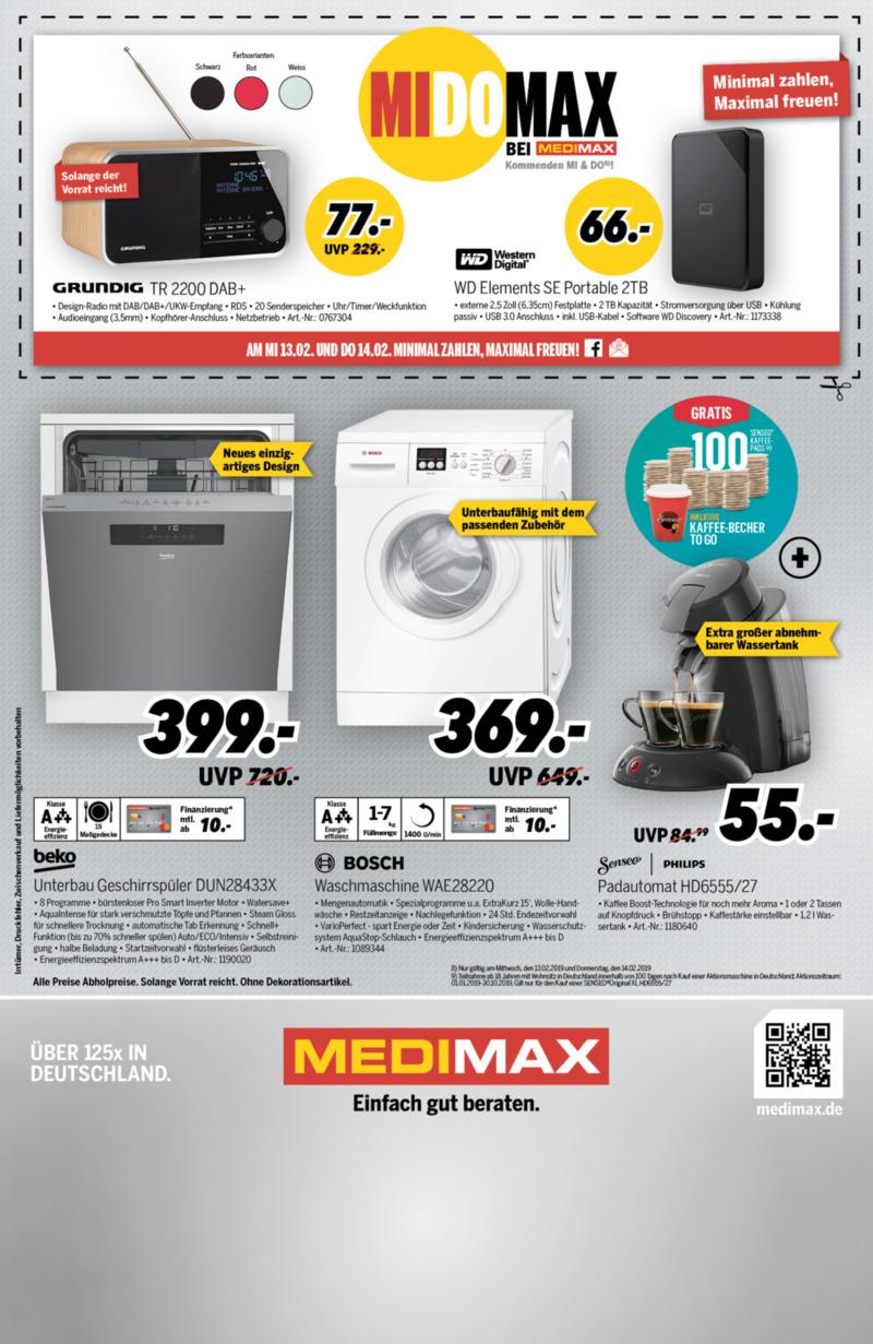 medimax Prospekt vom 08.02.2019, Seite 3