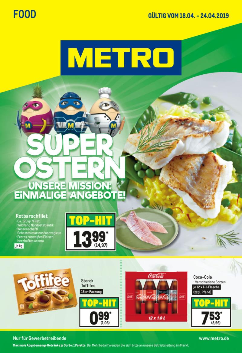 METRO Prospekt vom 18.04.2019, Seite