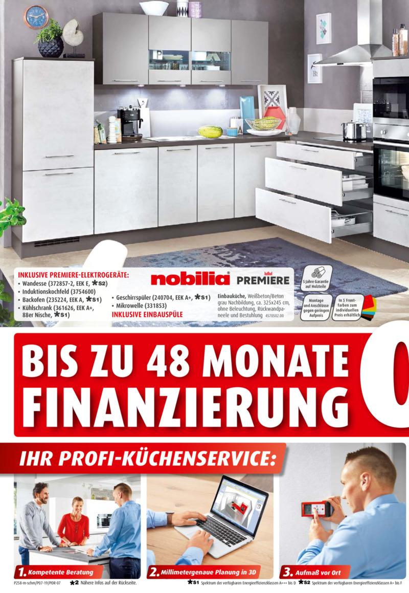 porta Möbel Prospekt vom 02.02.2019, Seite 1