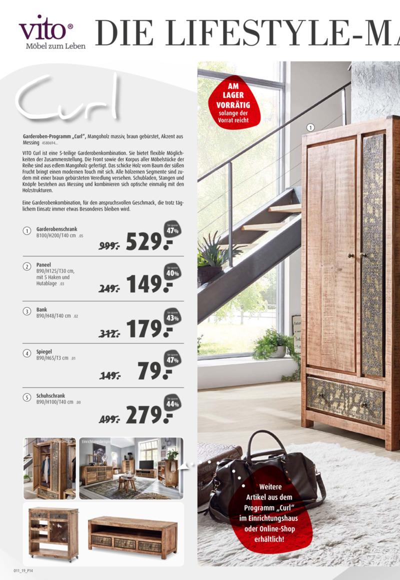 porta Möbel Prospekt vom 17.08.2019, Seite 13