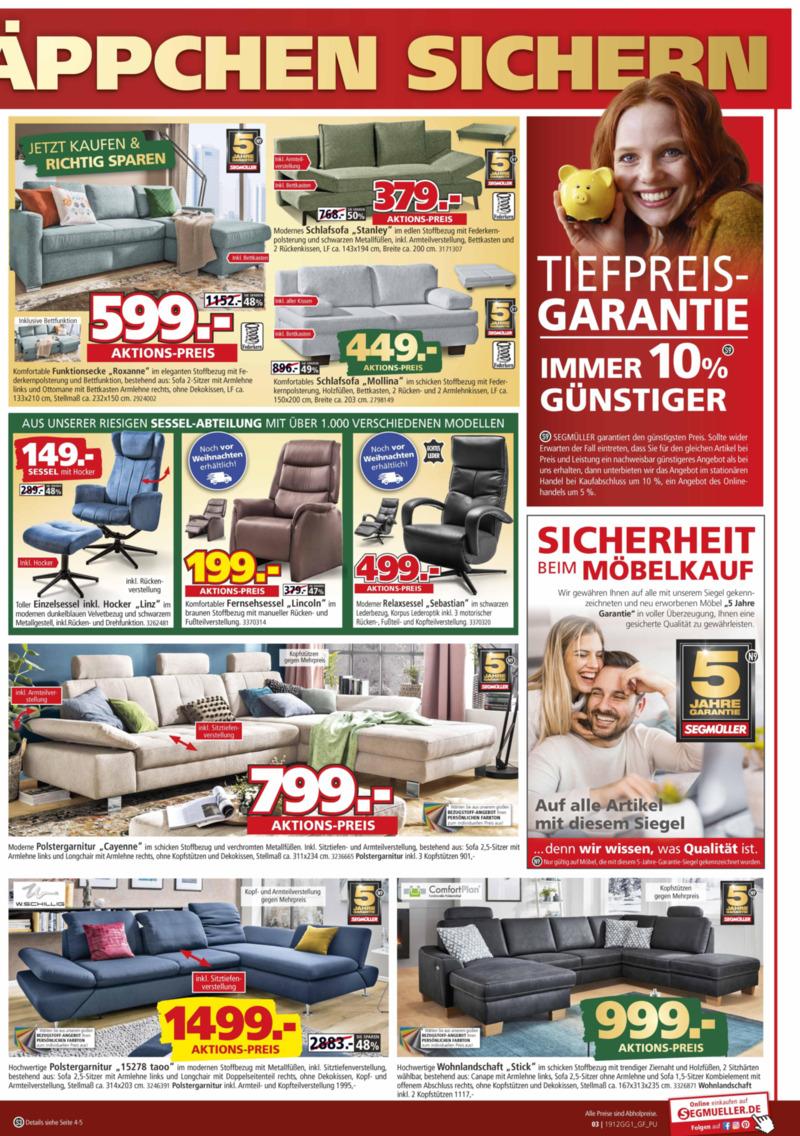 Segmüller Prospekt vom 04.12.2019, Seite 2