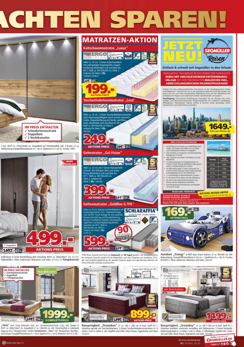 Segmüller Prospekt vom 04.12.2019, Seite 6