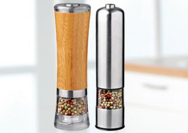 STOHA DESIGN Elektrische Salz-/Pfeffermühle Von Penny