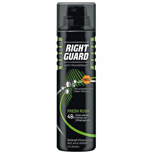 right guard anti transpirant spray fresh rush von rossmann ansehen. Black Bedroom Furniture Sets. Home Design Ideas
