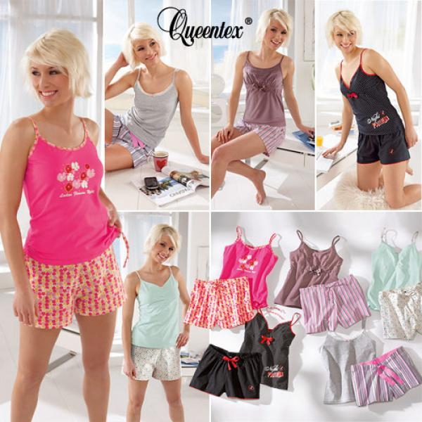 sommer pyjama f r damen von aldi nord ansehen. Black Bedroom Furniture Sets. Home Design Ideas