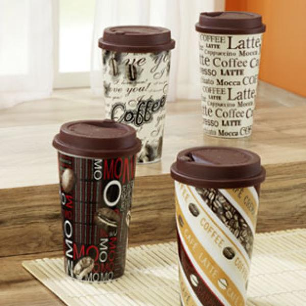 coffee to go becher von real ansehen. Black Bedroom Furniture Sets. Home Design Ideas