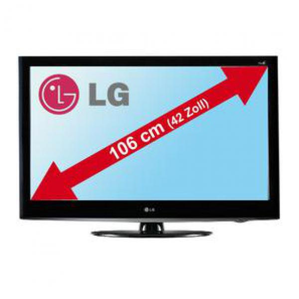 lg electronic 107cm 42 zoll full hd lcd tv 42ld420 von marktkauf ansehen. Black Bedroom Furniture Sets. Home Design Ideas