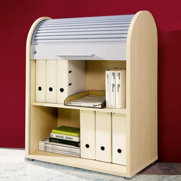 Rolladenschrank ikea  Rolladenschrank Buche: Büroschrank kaufen » Abschließbarer ...