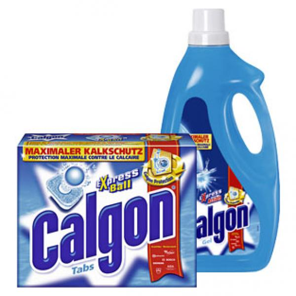Calgon Wasserenthärter Pulver 1,5 kg, Tabs 42er oder Gel  ~ Geschirrspülmaschine Tabs Oder Pulver
