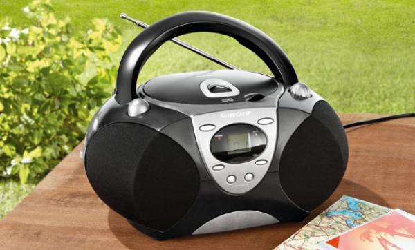 silvercrest mp3 cd player von lidl ansehen. Black Bedroom Furniture Sets. Home Design Ideas