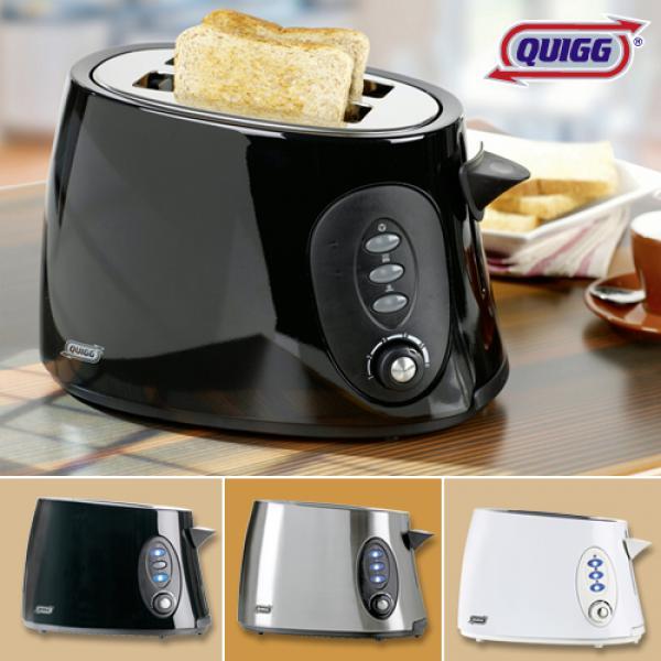 quigg metall toaster von aldi nord ansehen. Black Bedroom Furniture Sets. Home Design Ideas