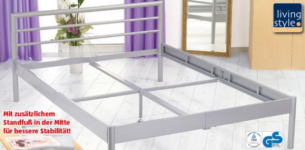 living style metallbett von aldi s d ansehen. Black Bedroom Furniture Sets. Home Design Ideas