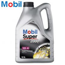 5 Liter Motorenöl Mobil Super 2000 10W-40