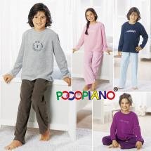 Frottee-Schlafanzug für Kinder