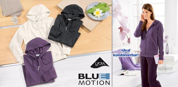 blue motion damen wellness jacke oder pullover von aldi. Black Bedroom Furniture Sets. Home Design Ideas