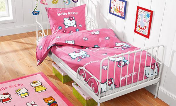 hello kitty bettw sche 135 x 200 cm von lidl ansehen. Black Bedroom Furniture Sets. Home Design Ideas