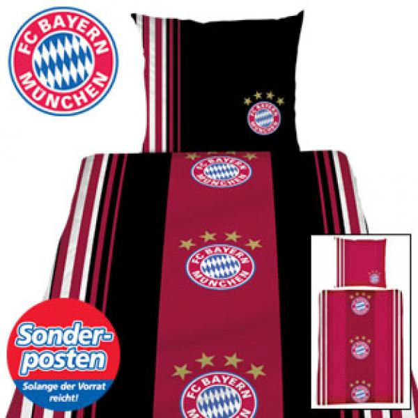 fc bayern m nchen baumwoll bettw sche von real ansehen. Black Bedroom Furniture Sets. Home Design Ideas