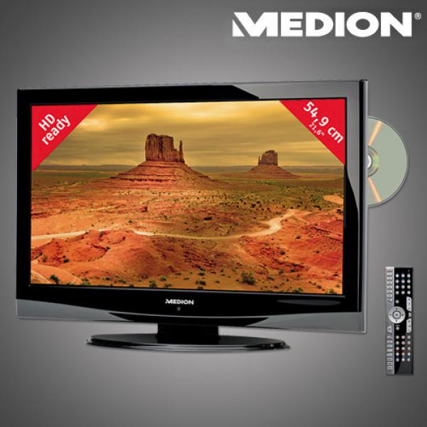 54 9 cm 21 6 design lcd tv dvd kombination mit integriertem dvb t tuner von aldi nord ansehen. Black Bedroom Furniture Sets. Home Design Ideas