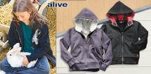 ALIVE® Kinder- Outdoor-Sweatjacke