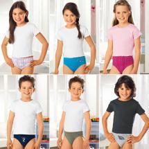 Mädchen- und Knaben-Slips