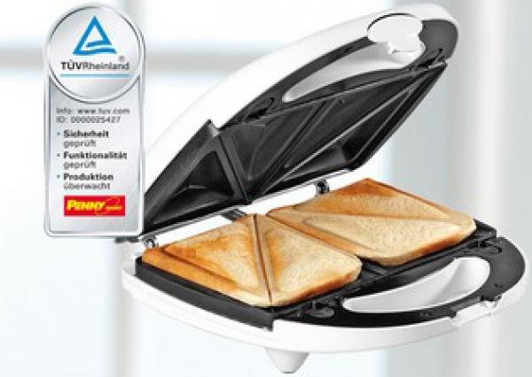 home electric sandwichmaker 3 in 1 von penny markt ansehen. Black Bedroom Furniture Sets. Home Design Ideas