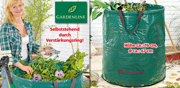 gardenline gartensack faltbar von aldi s d ansehen. Black Bedroom Furniture Sets. Home Design Ideas
