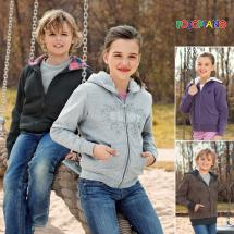 Kinder Outdoor-Sweatjacke
