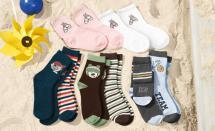 2 Paar Mädchen-Socken