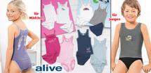 ALIVE® Kinder- Unterwäsche