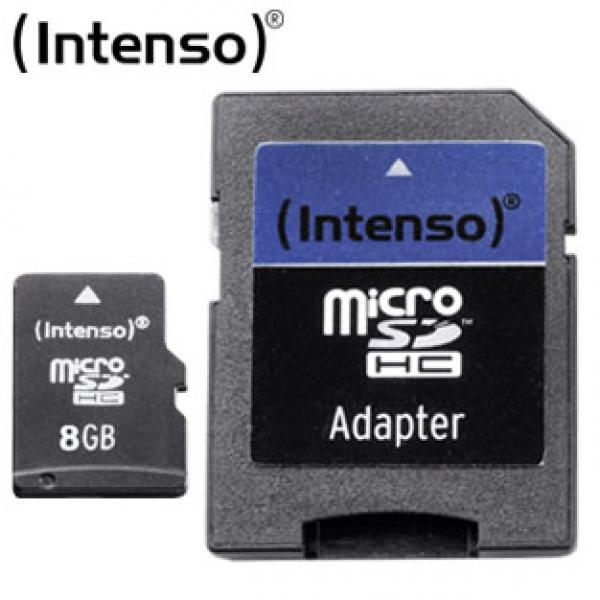 micro sd karte 8 gb mit sd adapter von real ansehen. Black Bedroom Furniture Sets. Home Design Ideas