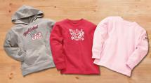 Mädchen-Sweatshirt