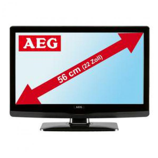 aeg 56cm 22 zoll full hd lcd tv ctv 2201 dvb t von. Black Bedroom Furniture Sets. Home Design Ideas