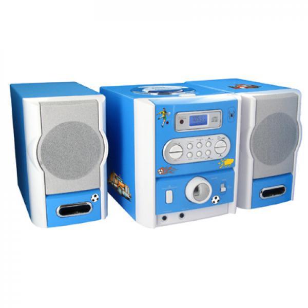 bigben kinder stereo musikanlage blau von rossmann ansehen. Black Bedroom Furniture Sets. Home Design Ideas