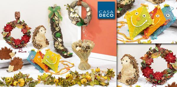 Casa deco herbst dekoration von aldi s d ansehen for Dekoration angebote