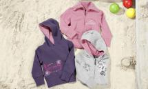 LUPILU Kleinkinder-Sweatshirt/-jacke für Mädchen
