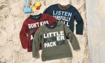 LUPILU Kleinkinder-Langarmshirt für Jungen