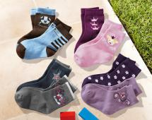 2 Paar Kleinkinder-Socken