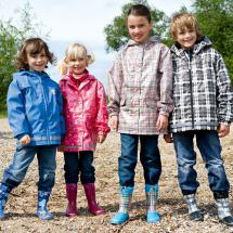 Regenmantel/-jacke für Kinder