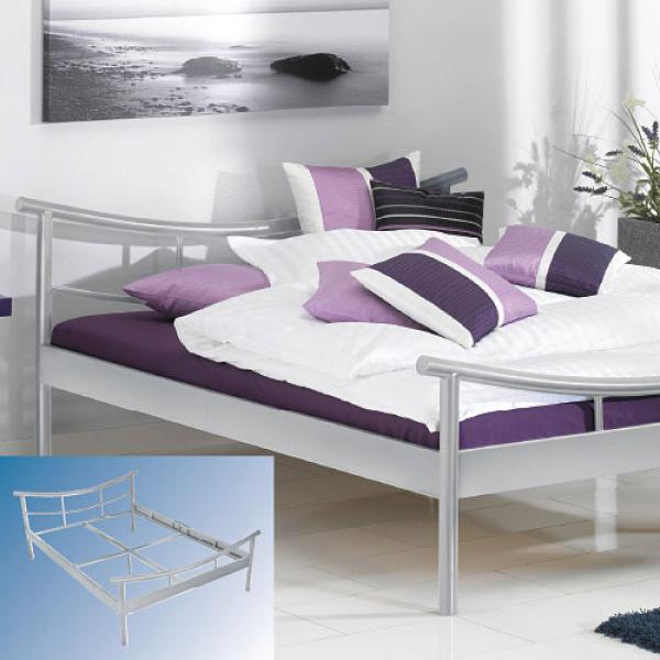 metall doppelbett von aldi nord ansehen. Black Bedroom Furniture Sets. Home Design Ideas