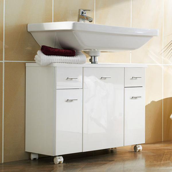 Badezimmer unterschrank von aldi nord ansehen - Waschbeckenunterschrank bauen ...
