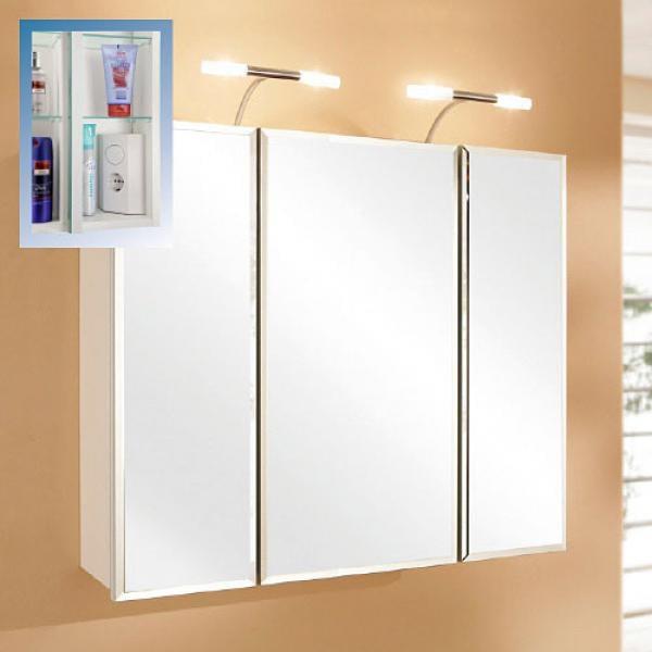LIVING ART Badezimmer-Spiegelschrank von Aldi Nord ansehen!