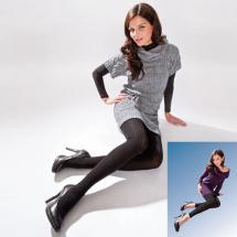 Strickstrumpfhose / Leggings