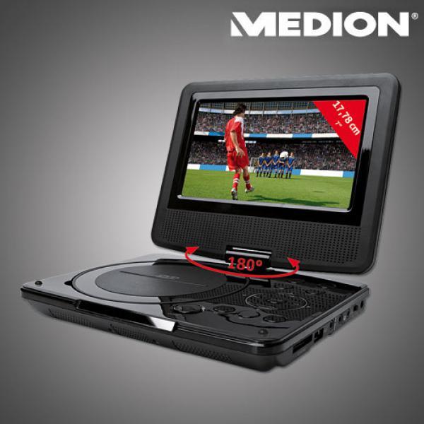 tragbarer design dvd player mit integriertem dvb t tuner von aldi nord ansehen. Black Bedroom Furniture Sets. Home Design Ideas