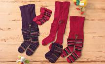 Mädchen-Strumpfhose oder 2 Paar Socken