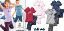 ALIVE® Kinder- Winterunterwäsche, 2-teilig