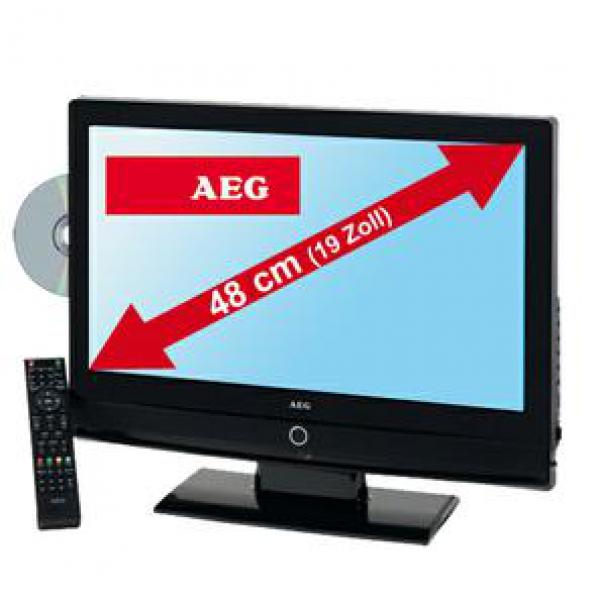 aeg 48cm 19 zoll lcd tv ctv 4950 dvb t dvd von marktkauf. Black Bedroom Furniture Sets. Home Design Ideas