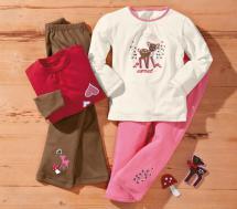 Kleinkinder-Mädchen-Schlafanzug